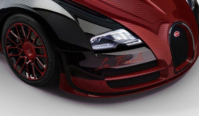 La Finale: conheça o 450º e último exemplar do Bugatti Veyron