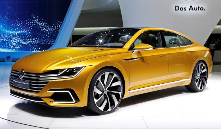 Sport Coupé Concept GTE antecede as linhas do novo Volkswagen CC