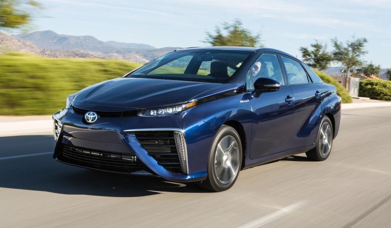 Toyota Mirai quebra recorde de distância com zero emissão