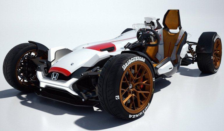 Honda Project 2&4 reúne os elementos mais empolgantes da moto e do carro