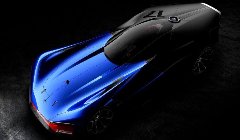 É o novo batmóvel? Nada disso, é o Peugeot L500 R Hybrid!