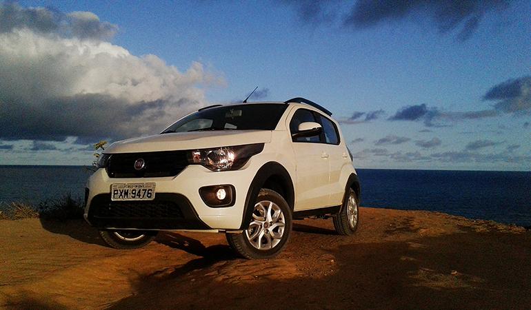Fiat Mobi Way é boa opção para estradas ruins