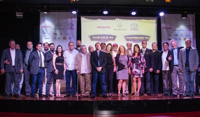 Prêmio TOP CAR comemora 15 anos elegendo os melhores de 2016
