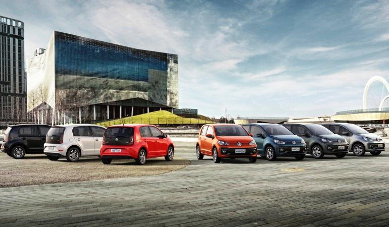 Volkswagen apresenta linha 2018 do up! com mudanças no visual