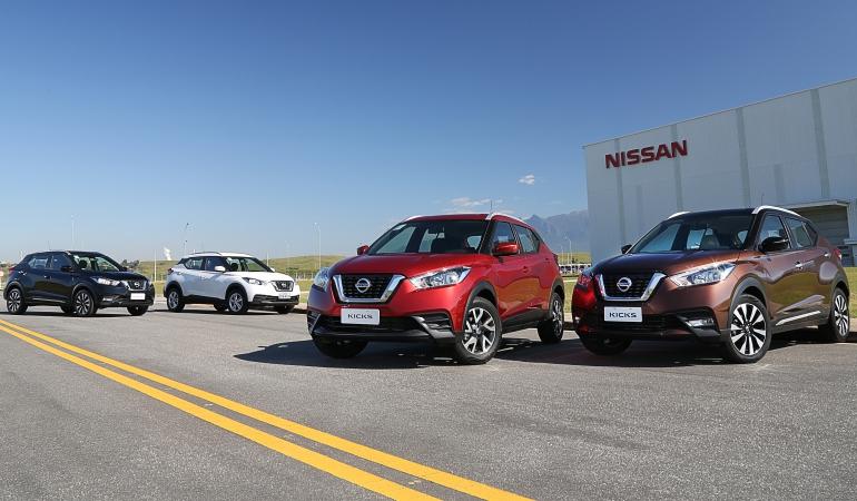 Nissan Kicks amplia a gama e passa a ser produzido no Brasil