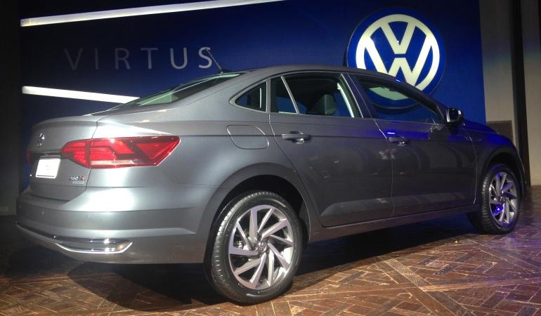 Volkswagen faz avant Première do Virtus