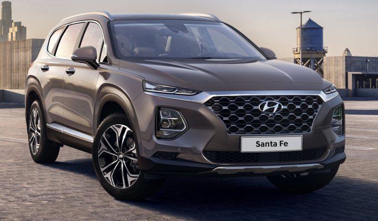 Hyundai revela primeiras imagens da nova geração do Santa Fé