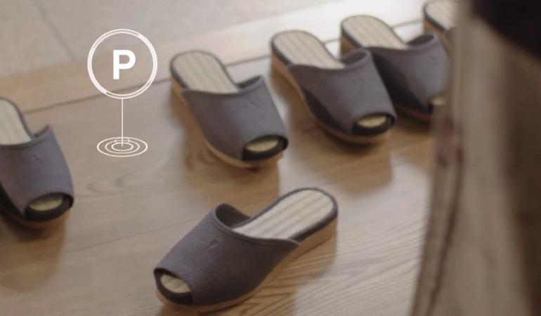Pousada no Japão oferece chinelos com dispositivo de estacionamento