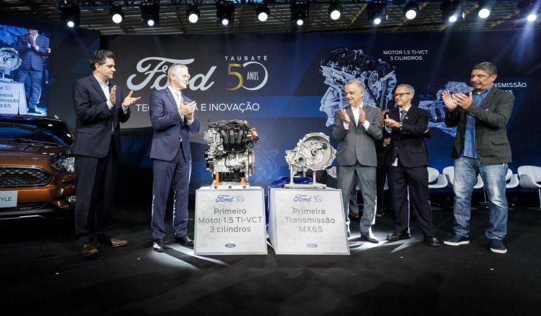 Fábrica Taubaté da Ford comemora 50 anos estreando nova linha de montagem