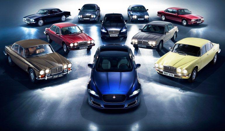 Jaguar celebra 50 anos de seu sedã mais luxuoso com o XJ50
