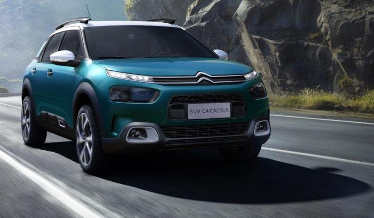 Citroën apresenta primeiras imagens do seu C4 Cactus