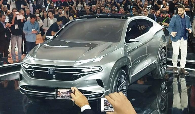 Primeiro SUV da Fiat é apresentado como concept car