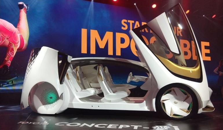 Conheça os detalhes dos veículos da Toyota equipados com IA