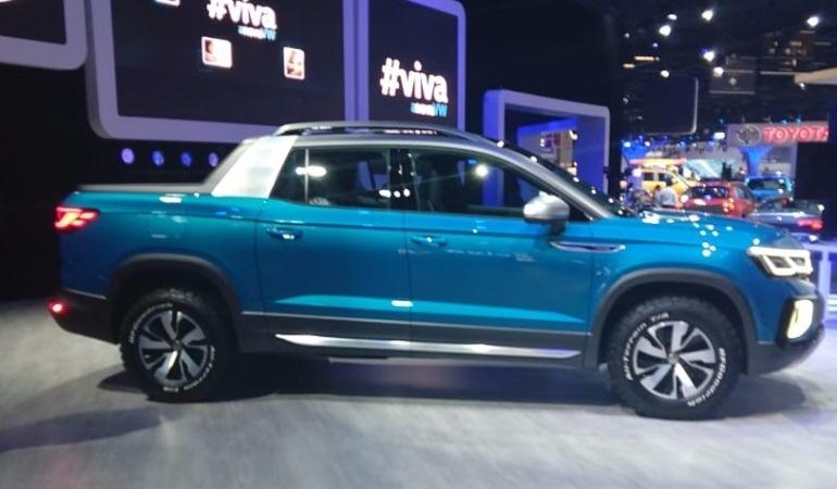 Tarok, a futura rival da Fiat Toro, é apresentada no Salão do Automóvel