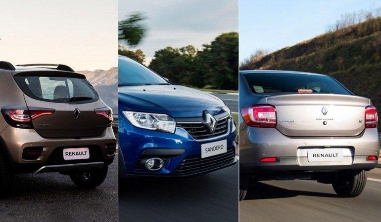 Renault apresenta linha 2020 do Sandero, Logan e Stepway