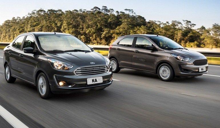 Ford Ka inicia 2020 na vice-liderança do mercado de compactos