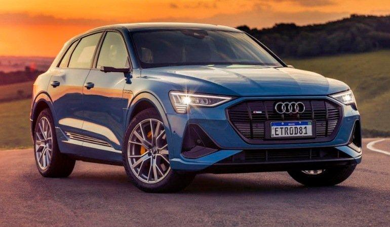 SUV 100% elétrico Audi e-tron chega ao mercado brasileiro