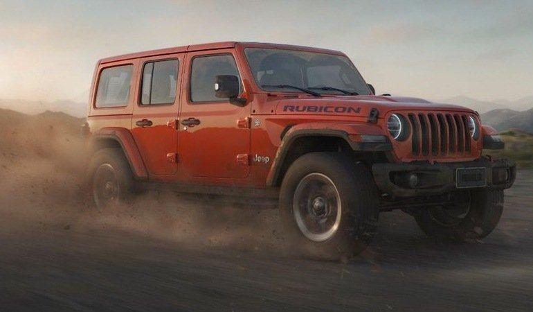 Jeep inicia vendas do Wrangler Rubicon no Brasil